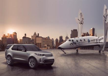 "Land Rover enthŸllt bahnbrechendes ""Discovery Vision Concept"""